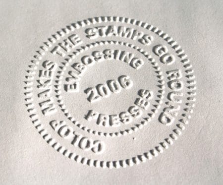 company seal impression