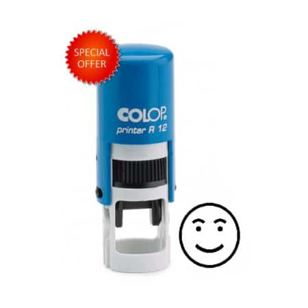 Colop R12 Smiley face stamp