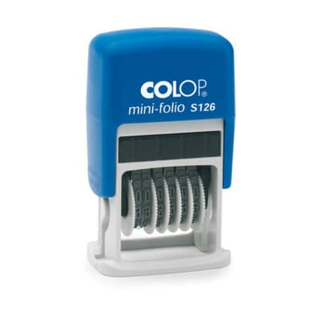 Colop S126 number stamp