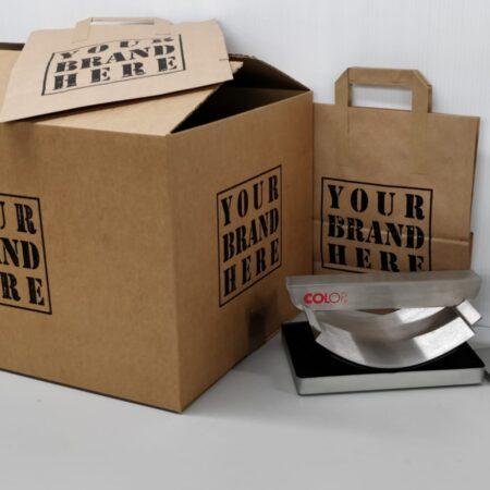 Bag and Box Stamp