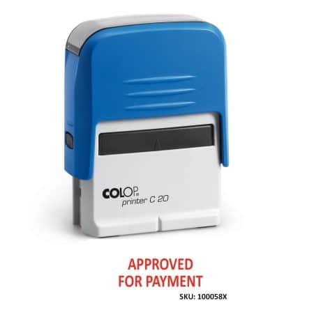 C.O.D. stamp stock stamp
