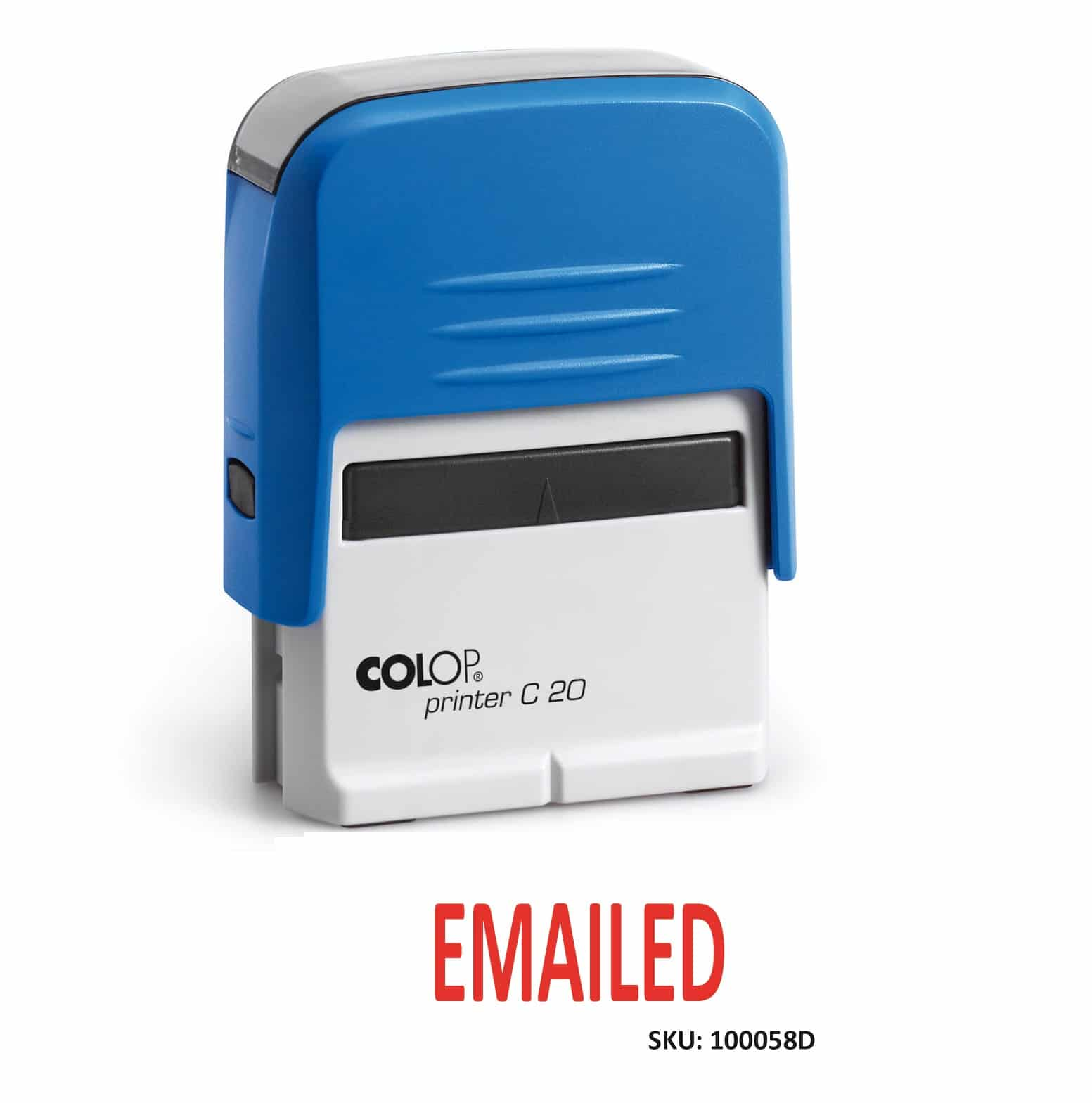Emailed Stamp Self Inking 14 X 38mm
