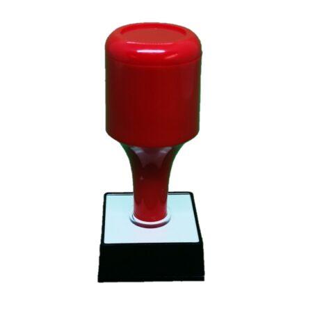 rubber stamp square