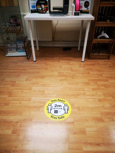 floor sticker zoomed out